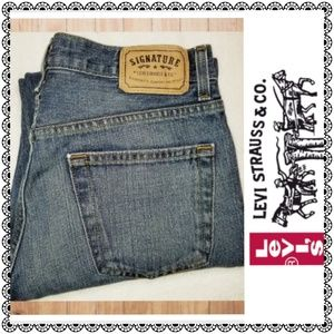 {Levi's} Signature Relaxed blue jeans, men's 30×30